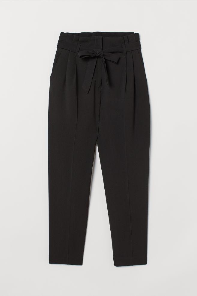 h&m pantalon noir costume