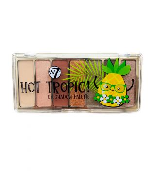 palette hot tropic w7