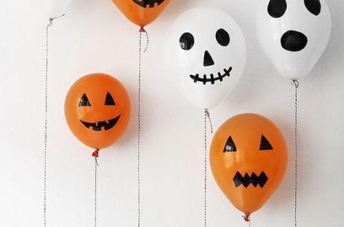 ballon deco halloween