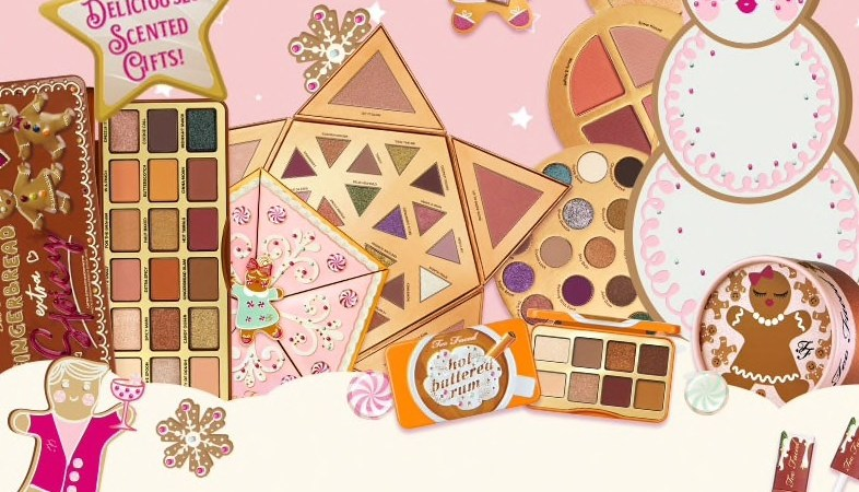 too faced collection noël 2019