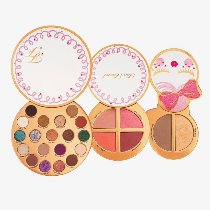 palettes let it snow girl beauté