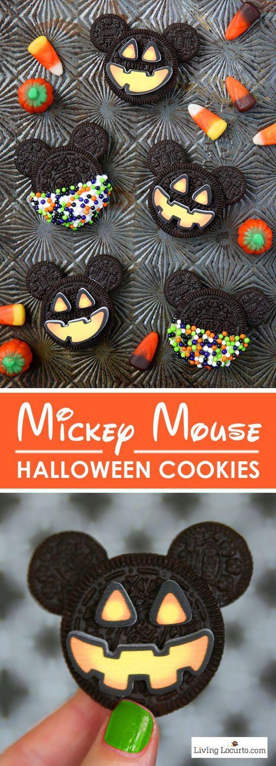 mickey dessert effrayant halloween