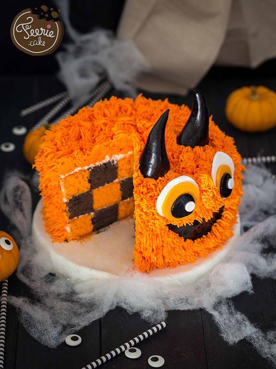 monstre effrayant halloween