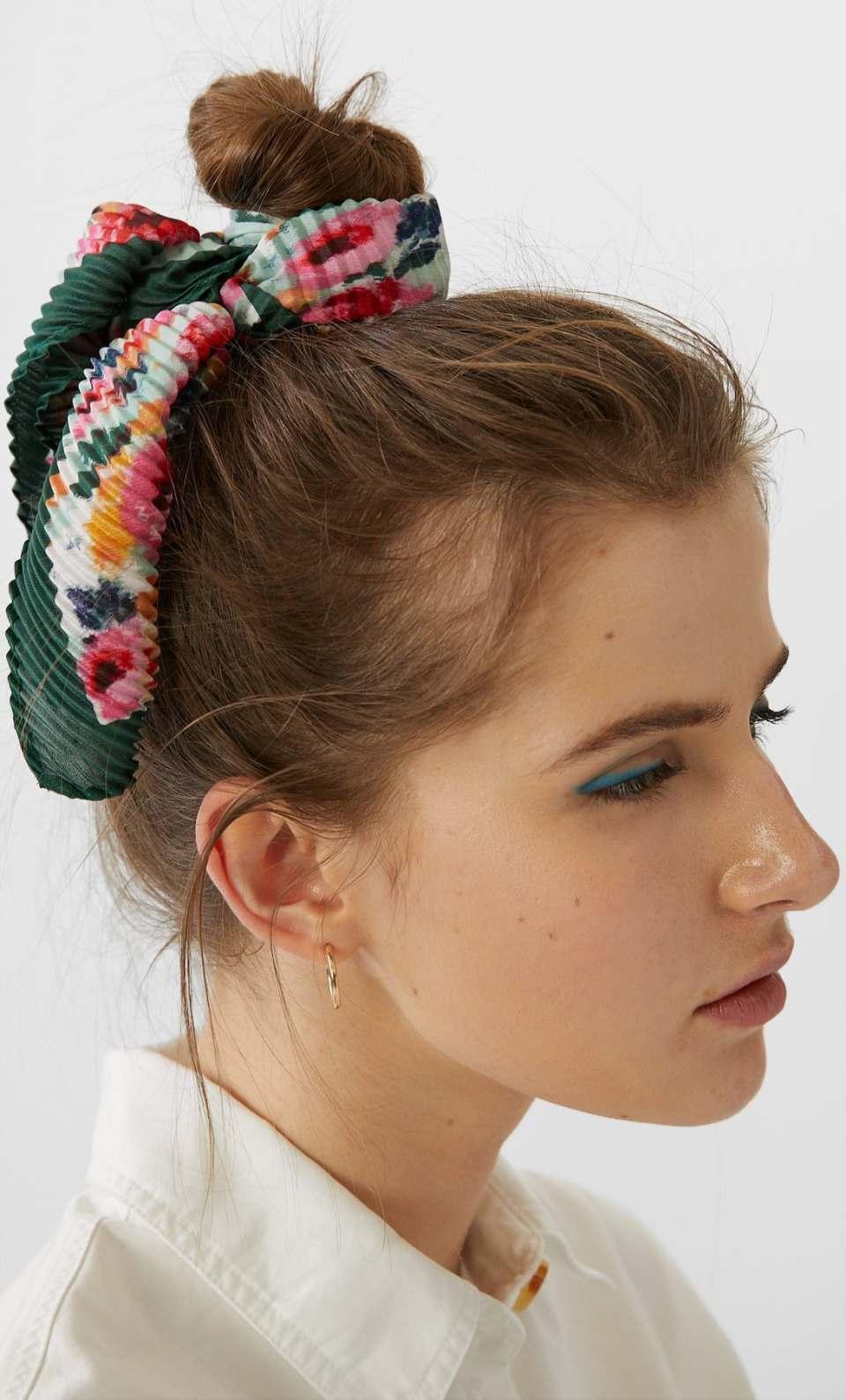 foulard fleuri