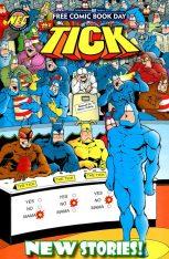 The Tick - Free Comic Book Day 2016 001