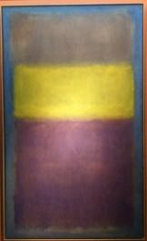 Mark Rothko, No. 2 (Yellow Center), 1954, huile sur toile, 289 x 173 cm.