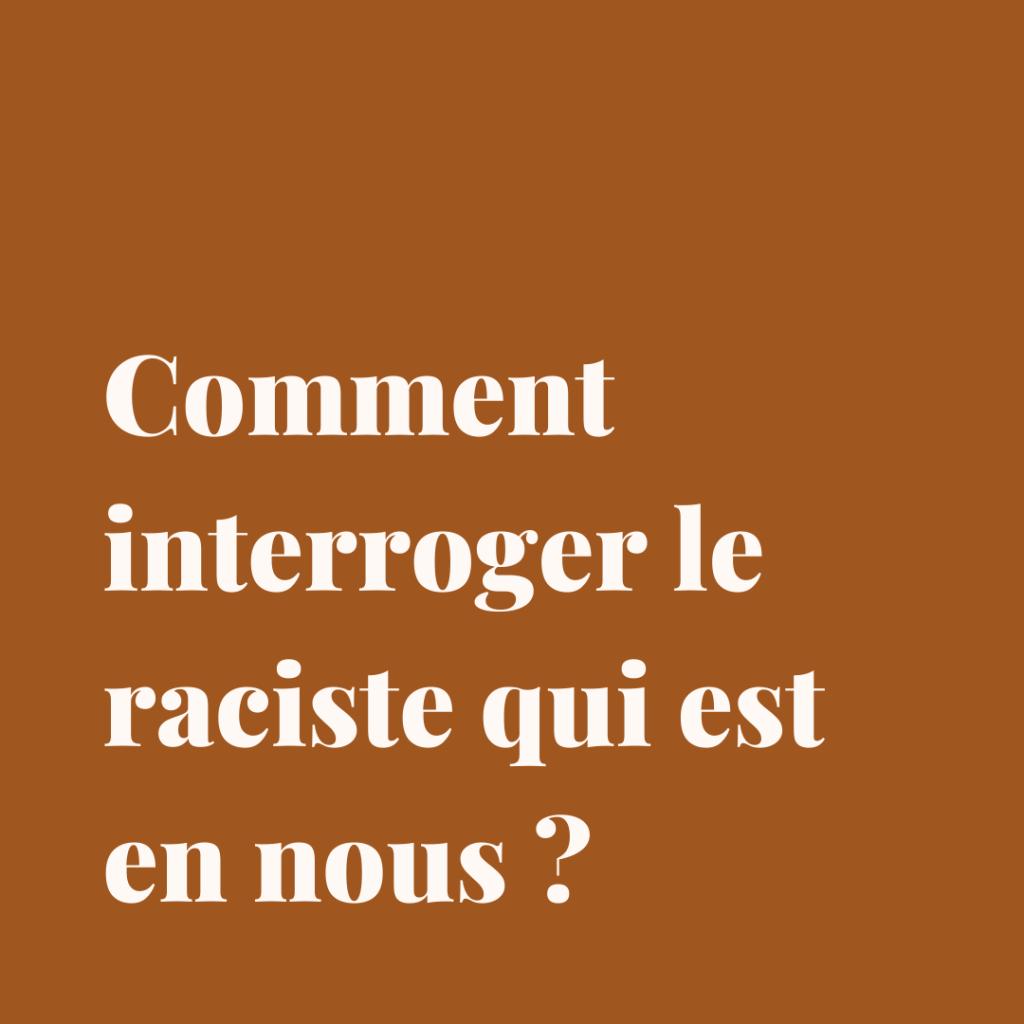 Racisme, Black Lives Matter, militantisme
