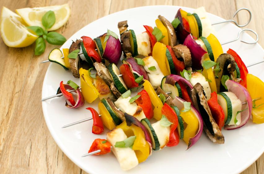 Le barbecue façon végétarien