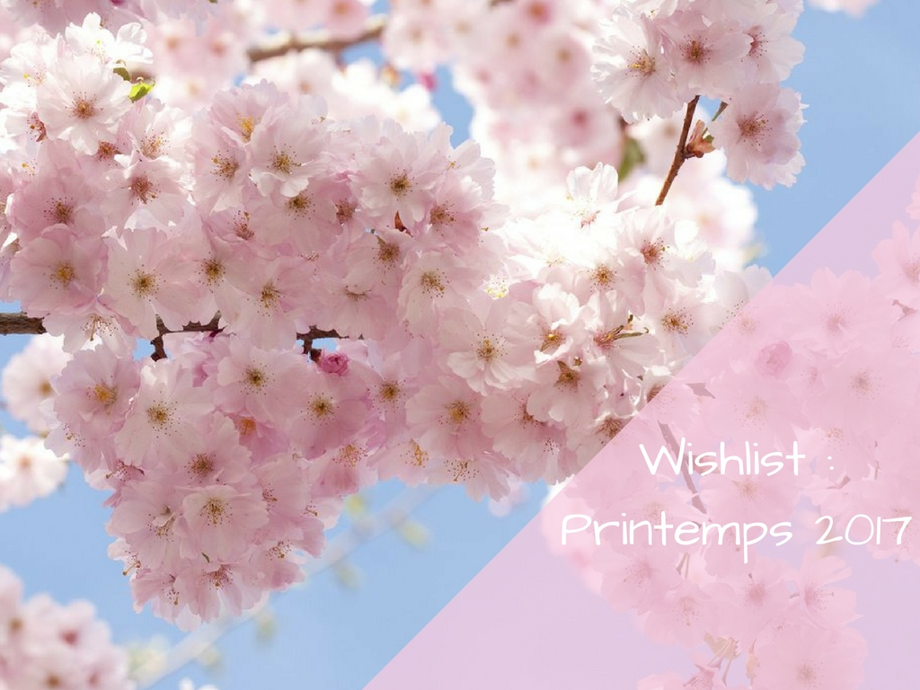 Wishlist Printemps 2017