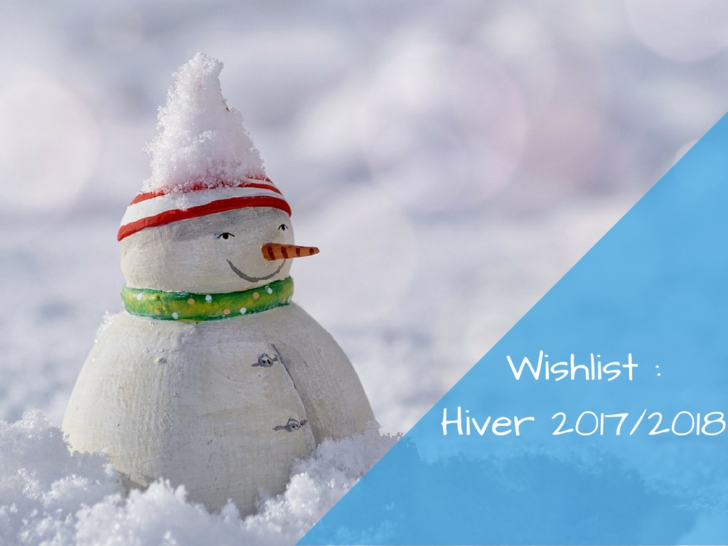 Wishlist hiver 2017/2018
