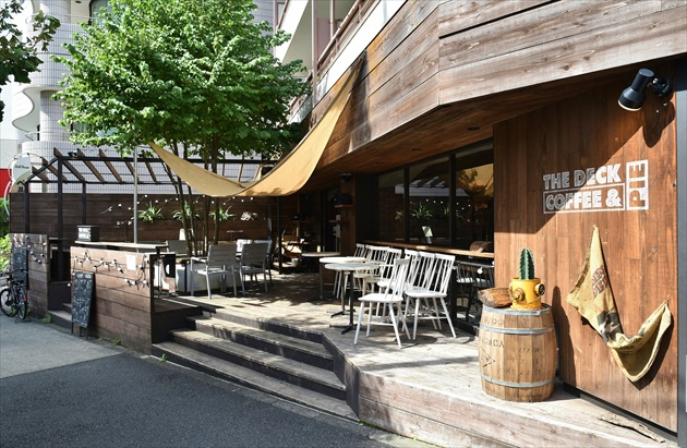 The Deck Coffee And Pie, Omotesando Meilleures Terrasses Tokyo