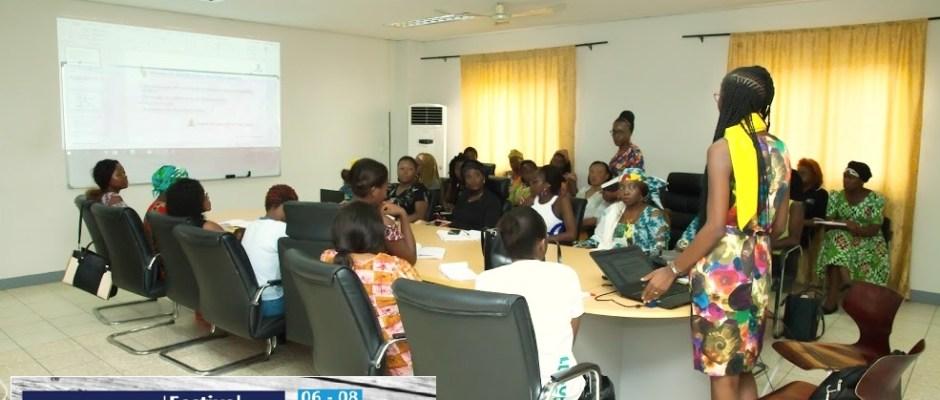 Atelier sur la certification de google marketing digital au festival femme numérique 2019