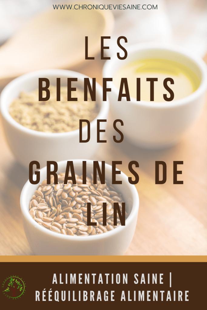 Les graines de lin sont un super aliment qui ont leur place dans une alimentation équilibrée. Découvrez leurs nombreux bienfaits