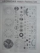 LEONIDAS - Calibres selon la classification de 1936. Source : Chronofolie, FAM.