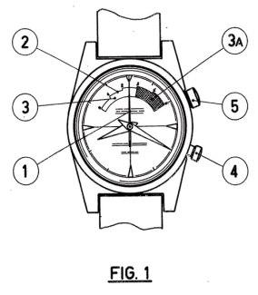 JEAN RICHARD. Brevet d'invention de la montre de régate. Crédit : Regatta-yachtimers.com.