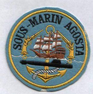 Écusson du sous-marin Agosta.