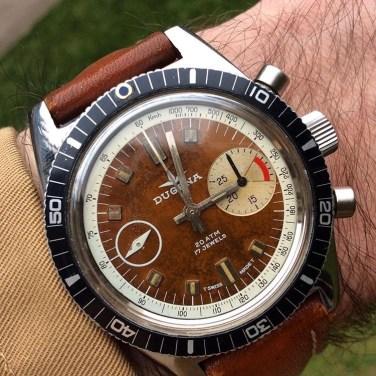 DUGENA, chronographe de régate, circa 1970.