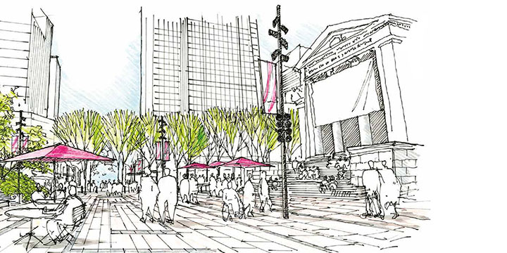 800 Robson concept drawing