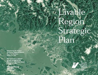 Livable Region Strategic Plan