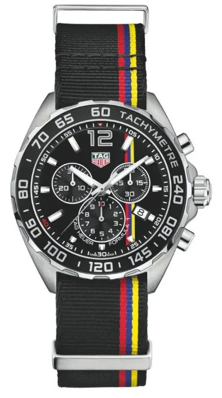 Tag Heuer James Hunt Limited Edition Nato