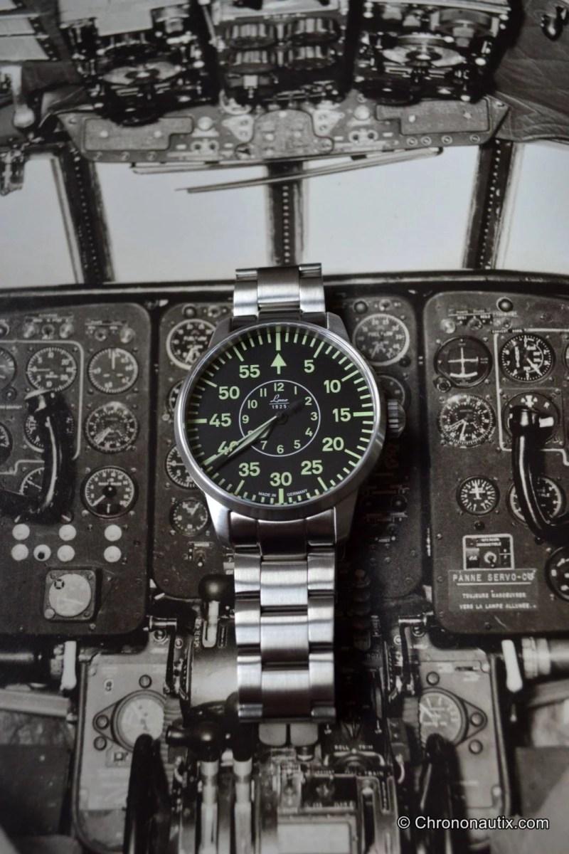 LACO Faro B-Muster Beobachtungsuhr: Test der historischen Fliegeruhr