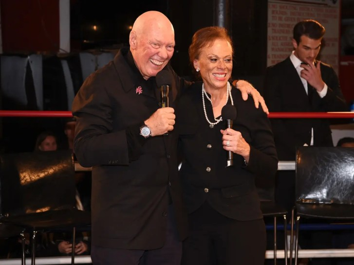 NEW YORK, NY - OCTOBER 25: CEO of TAG Heuer Jean-Claude Biver and Lonnie Ali attend the Muhammad Ali tribute event at Gleason's Gym on October 25, 2016 in New York City. (Photo by Dave Kotinsky/Getty Images for TAG Heuer) *** Local Caption *** Jean-Claude Biver;Lonnie Ali