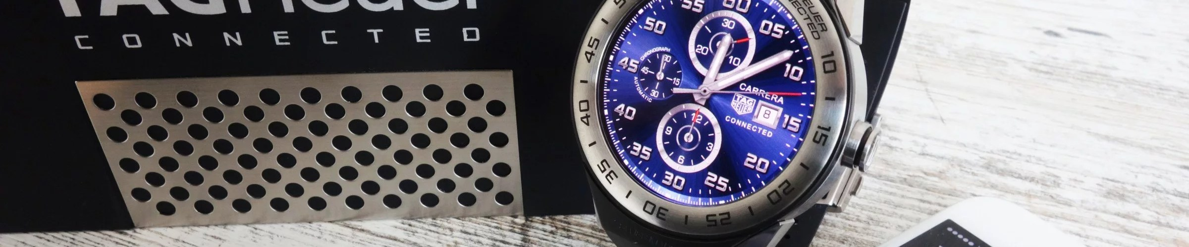 TAG Heuer Connected Modular 45 mit iPhone iOS Android Wear 2.0
