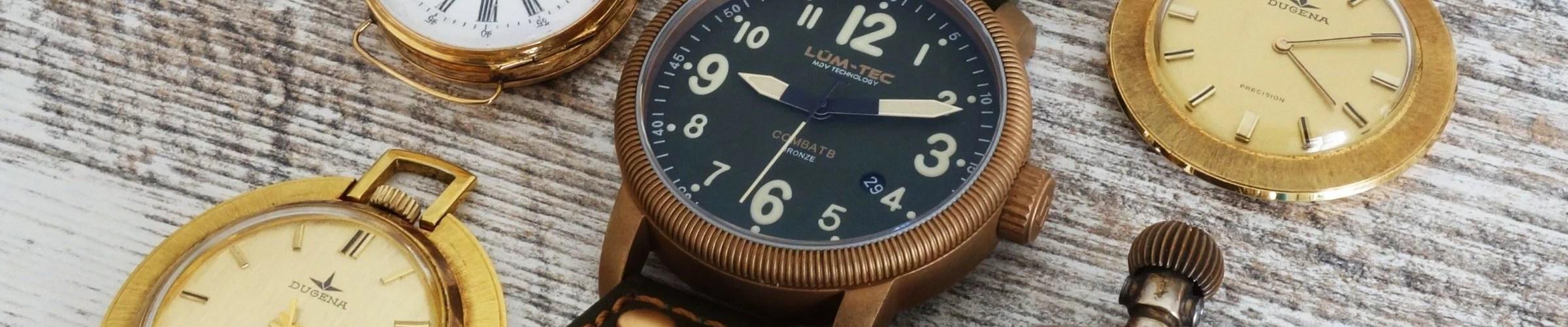 LÜM-TEC MDV Technology Vintage Bronze Watch (1)