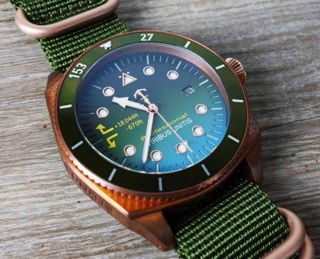 Bronze Uhr 42 mm