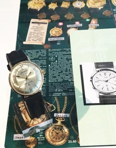 Glashütte GUB DDR Chronometer Werbung
