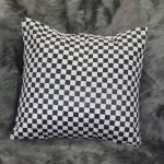 Checkered blackandwhite throw pillow Chronos stores dreamhome shop seller
