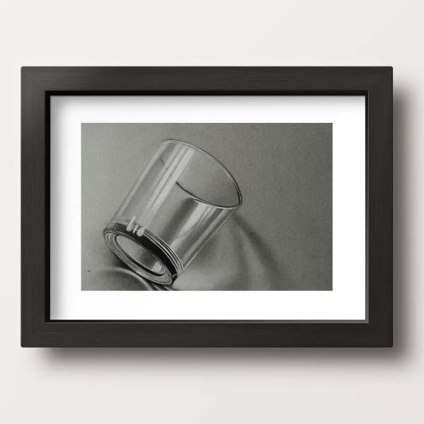 glass cup painting wall hanging interior design frame