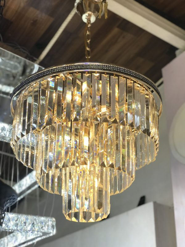 3 Layered Dropping Chandelier