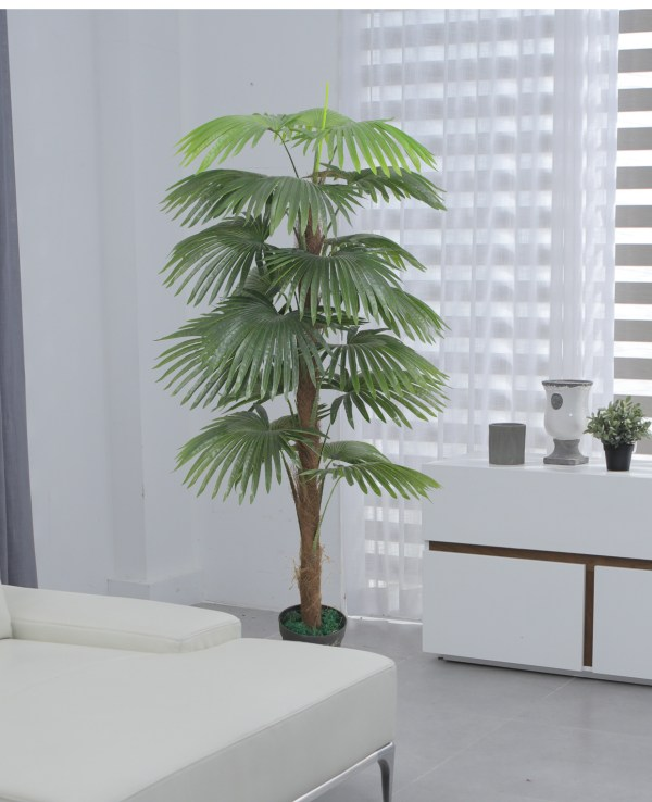 Lady Palm Artificial Tree