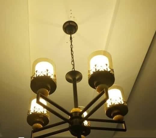 Five Cup Drop Light