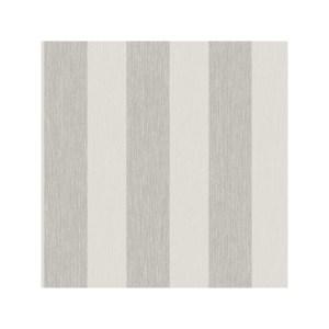 Ash and Grey Striped Wallpaper