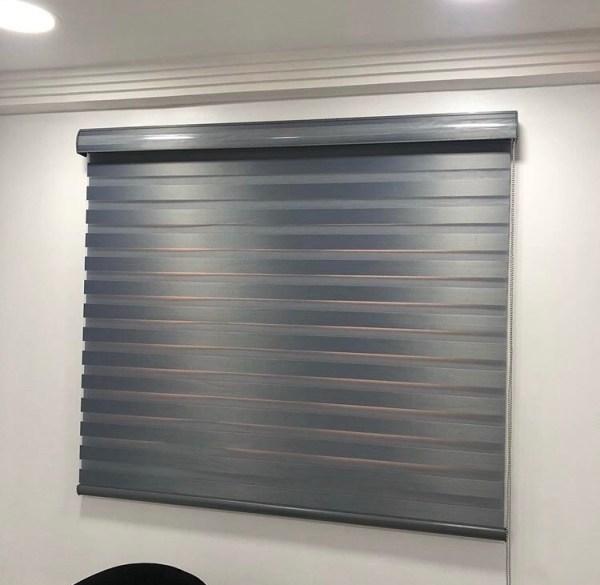 Deep Grey Window Blind