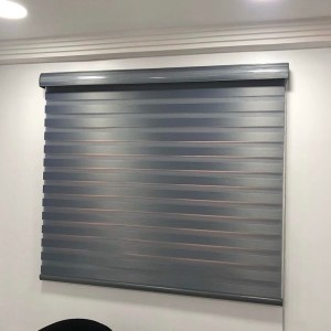 Deep Grey Window Blind
