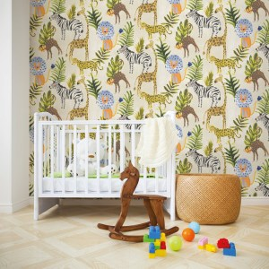 Children Pattern Wallpaper