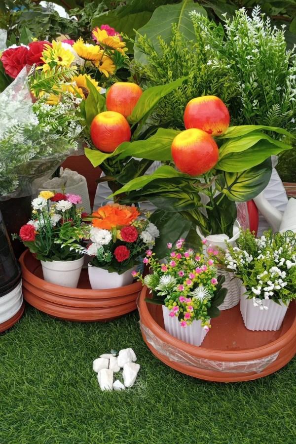 buy artificial apple plants