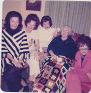 Millie,Dolly,Edith,Nana,Omie