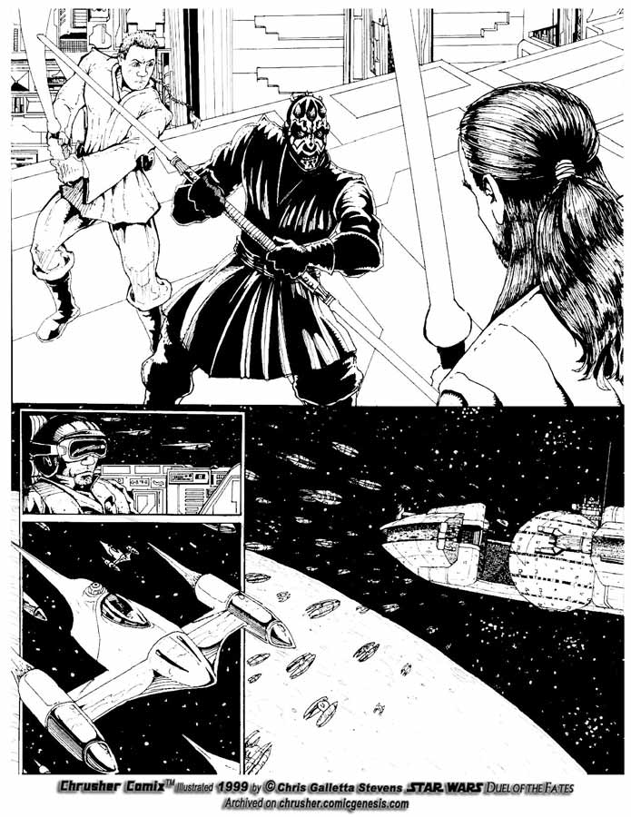 Star Wars: Lightsaber Duel w/ Darth Maul | Chrusher Comix (Page 2)