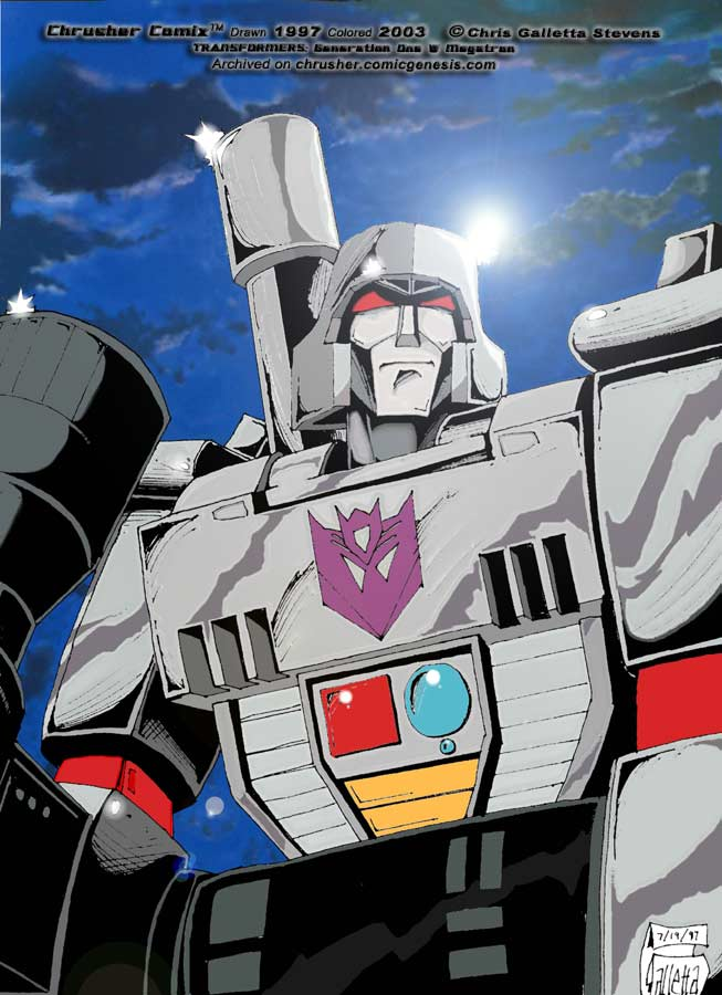 Transformers: G1 Cartoon Megatron | Chrusher Comix