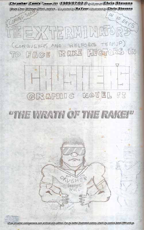 Wrath Of The Rake Coming Soon