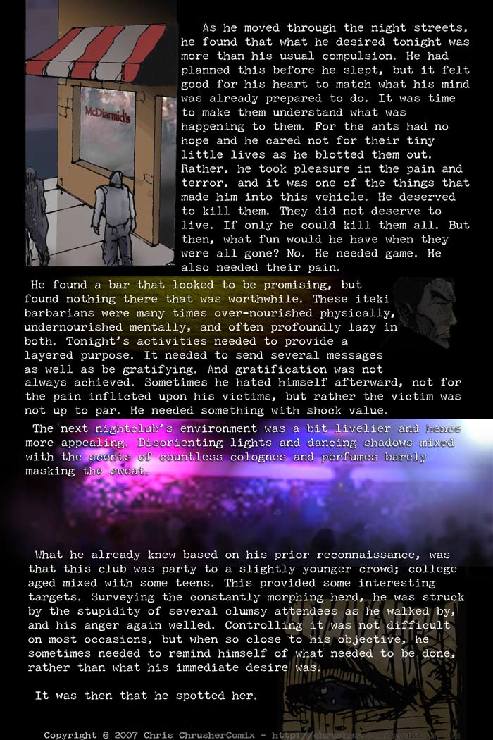 Night Club | End Cycle #1 – Page 3