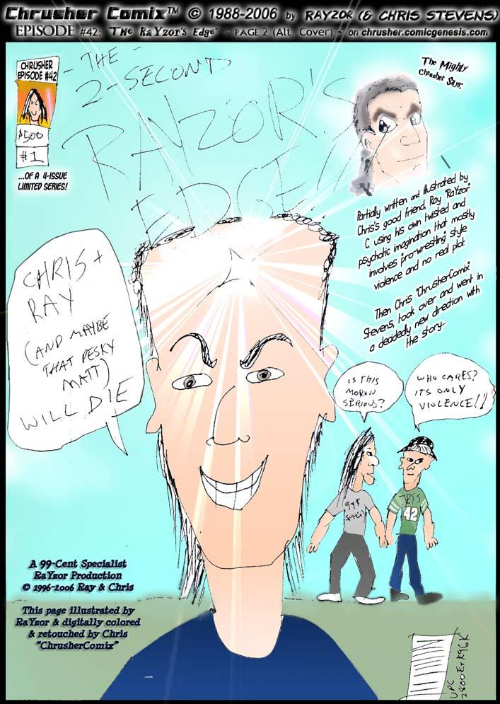 CANON FAN ART: RaYzor's Edge #1 cover by RaYzor C. [Canon fan art]