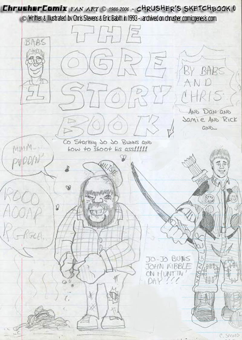 Ogre And Jo Jo Storybook Cover