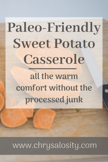 Paleo Sweet Potato Casserole Recipe