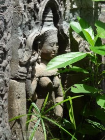 Apsara with green