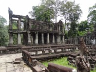 Preah Khan library